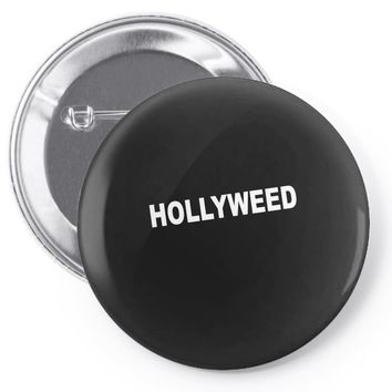 Hollyweed Pin-back button