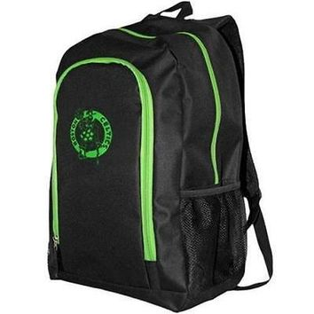 Brand New Fanatics 1082029 Boston Celtics Neon Tracker Backpack - Black