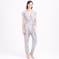 J.Crew Womens Collection Tropical Wool Jumpsuit