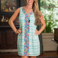 Passion For The Positive Dress, Mint