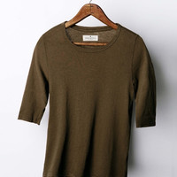 imogene + willie · the dark olive 3/4 tee