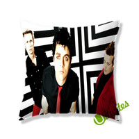 Green Day Music Band Square Pillow Cover