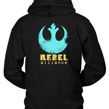 Star Wars Rebel Alliance Hoodie Two Sided