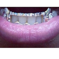 14k gold overlay removable Gold Teeth Grillz Griils caps including the mold kit and shipping 6 teeth /m6