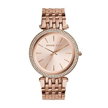 Michael Kors Women's Darci Rose Gold-Tone Watch MK3192 Day-First™