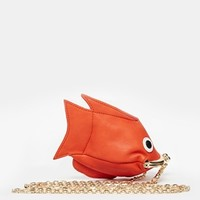 ASOS Goldfish Coin Purse with Chain at asos.com