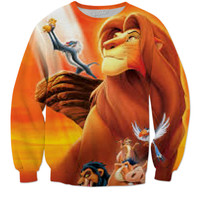 Lion King crewneck Sweatshirt