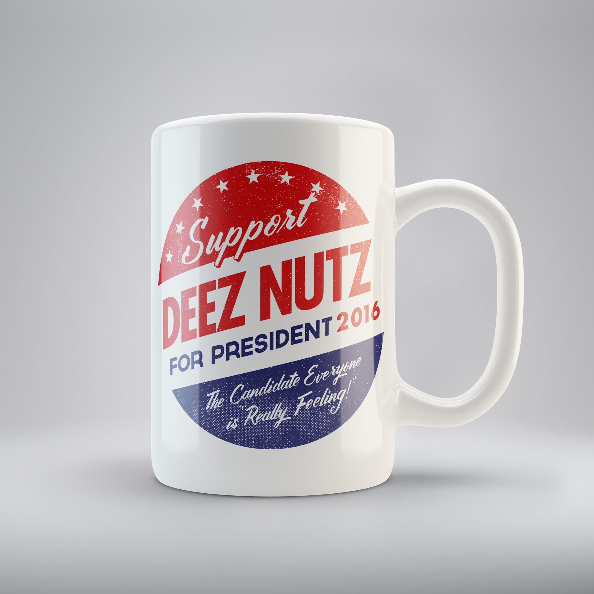 Cincinnati Reds Home Decor Deez Nuts For President Coffee Mugs From Liberty Maniacs