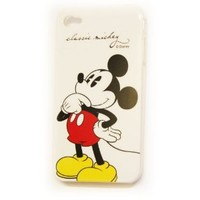 Disney Mickey Mouse Hard Back Piece Faceplate Protector Case Cover Classic Mickey Standing Cs for Apple iphone 4s / 4g / 4