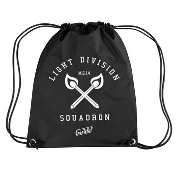 Light Div Cross Fire String Bag