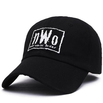 VORON NWO Dad Cap - Black - New World Order WCW Wrestling WWF WWE Raw Smackdown