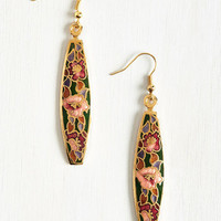 Vintage Inspired Natural Inspiration Earrings by ModCloth