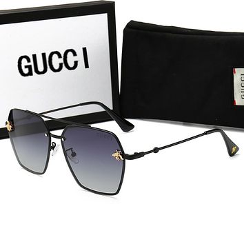 GUCCI Summer Fashion Women Men Bee Shades Eyeglasses Glasses Sunglasses
