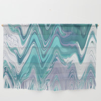 Ripple Waves Wall Hanging by sm0w