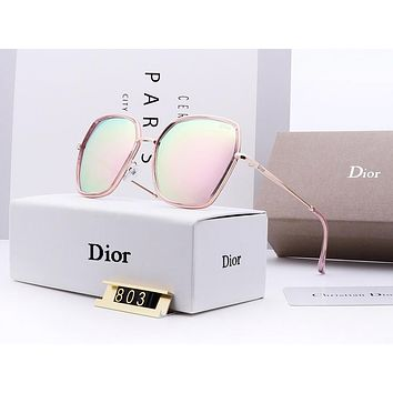 DIOR sells casual sunglasses for women fashion shades with large frame shades #2