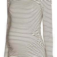 MAMA Long-sleeved Jersey Top - from H&M