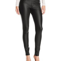 Liverpool Jeans Company Women's Madonna Coated Ponte Pull-On Legging