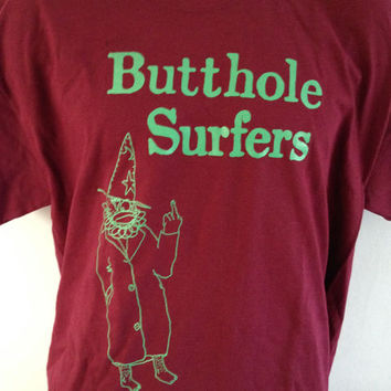 BUTTHOLE SURFERS CLOWN shirt