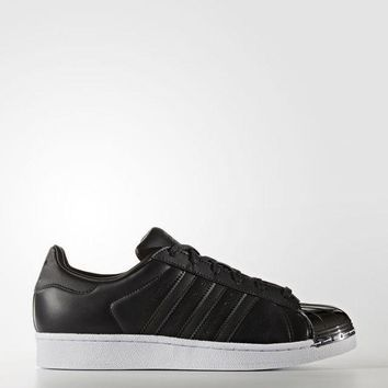 PEAPONEG adidas Superstar 80s Shoes - Black | adidas US