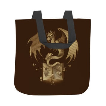 Mysterious Game of the Throne Tote Bag