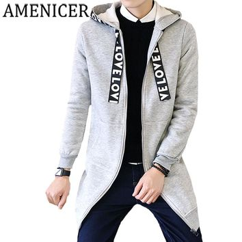 Mens Fashion Trench Long Windbreaker Letters Polyester Solid Color Flowers Print Coat For Man Jacket Trench Overcoat Raincoat