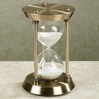 Moment in Time Hourglass        -                Table Clocks        -                Decorative Accents        -                Home Accents                    - Touch Of Class