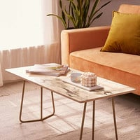 Chelsea Victoria For Deny Marble Coffee Table | Urban Outfitters