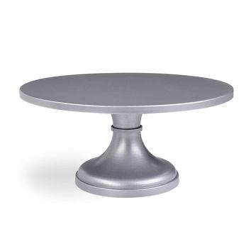 Starry Eyed Silver Cake Stand