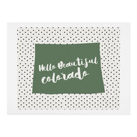 Allyson Johnson Hello Beautiful Colorado Art Print