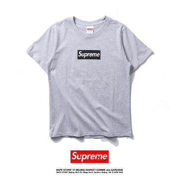 Cheap Women's and men's supreme t shirt for sale 85902898_0161