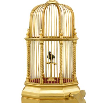 Musical Boxes, Mechanical Bird Boxes, Swiss Singing Bird Automaton at rauantiques.com