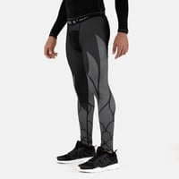 Icarus 2 Black Gray Tights for men