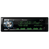 Pioneer Single-din Digital Media Receiver With Usb Ipod 3 Rca Preouts Rgb Bluetooth & Mixtrax