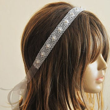 weddings,  Wedding Headband, Lace headband, bridal hairband, wedding accessory, hair accessories, wedding hair accessories, vintage style