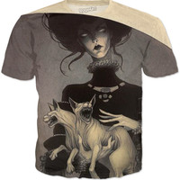 Medusa Cat Woman Shirt