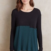 Ro & De Ribbed Block Top
