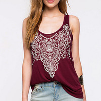 womens sleeveless LACE t-shirts tee fashion casual tank top vest gift 108