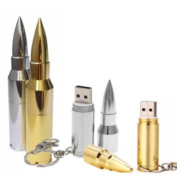 Bullet Shape USB | From 4 to 64 GB - Free Shipping
