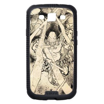 Cool classic vintage japanese demon ink tattoo samsung galaxy SIII covers from Zazzle.com
