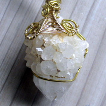 Spirit Quartz Talisman Necklace Bohemian Jewelry
