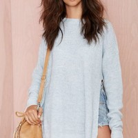 Seek Out Split Sides Sweater