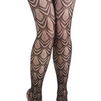 Just for the Fan of It Tights by ModCloth