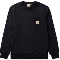 Black Pocket Sweater