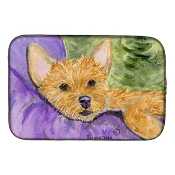 Norwich Terrier Dish Drying Mat SS8898DDM