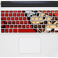 Mario -MAC pro keyboard applique decals mac pro apple MAC keyboard stickers macbook stickers