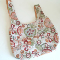 Knitting project Japanese knot bag 100% cotton 6x8 | crochet project bag | Japanese Knot Purse | bridesmaid purse bag | small project bag