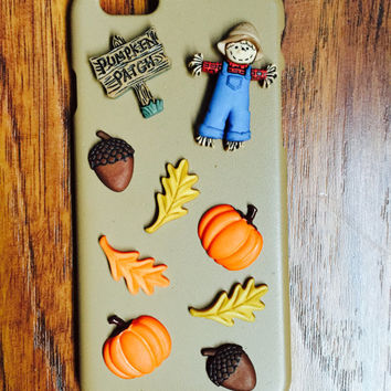 iPhone 6 Pumpkin Patch Autumn Phone Case
