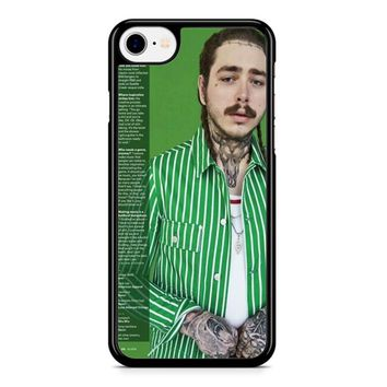 Post Malone Green iPhone 8 Case