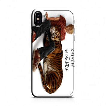Calvin And Hobbes (realistic) iPhone X Case