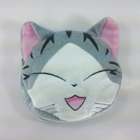 Chi's Sweet Home Plush Purse Wallet Soft Collectible for Kid Girl Smiling Cat